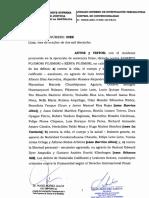 Resolución del Poder Judicial que anula el indulto a Alberto Fujimori