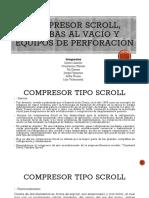 Compresor scroll, Bombas al vacío y equipos mineros (6)