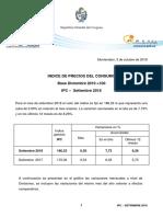 IPC Setiembre 2018