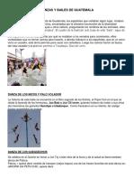 Danzas Bailes Folkloricos de Guatemal
