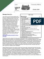 Senator Krueger's Community Bulletin - October 2018