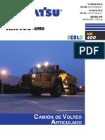HM400 3M0 ESP Brochure Español