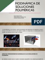 Termodinámica de soluciones poliméricas