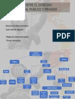 Diferencias Entre El Derecho Internacional Publico y Privado