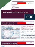 3.- Geografía política  actual.ppt