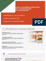 Características de La Economía Globalizada