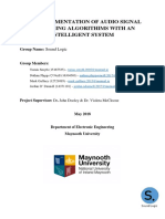 Intelligent Systems Project - Final Report