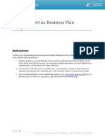 302 Business Plan Template BG