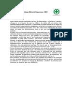 Diálogo Diário de Segurança 05 11 2014
