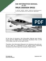 Cirrus SR22 Handbook and Manual
