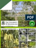 Evolution And Phylogeography Of The Australian Broadleaf Paperbark (Melaleuca leucadendra
