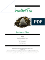 CreativiTea Business Plan Master