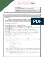 PROCEDIMENTO POP - NR33.docx
