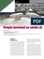 Terapia Hormonal en Cerdas.