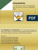 DIAPOSITIVAS - ESTEQUIOMETRIA