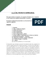 Indice Organización Empresa