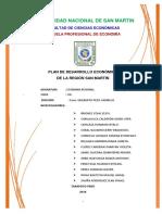 Plan de Desarrollo Economico
