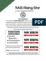 the grais rising star application