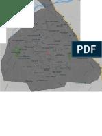 Mapa de Bonao