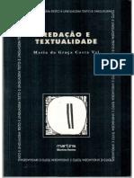 Redação e Textualidade Maria Da Costa Val