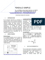 1er Lab Pendulo Simple