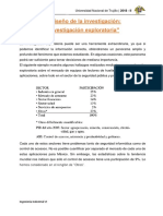EL Diseño de La Investigación - Informe