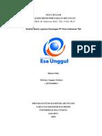 Analisis Laporan Keuangan (Tugas 1)
