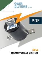 Catalogo Sheath Voltage Limiter