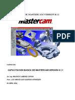 Introducción a MasterCam 8
