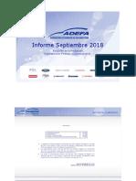Producción de autos agosto - Adefa