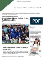 Prediksi Agen Sbobet Chelsea vs Vidi Fc 05 Oktober 2018
