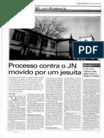 2001.07.07 – JN – Processo Contra o JN Movido Por Um Jesuíta — Manuel Dias