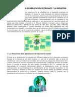 Documental de La Globalización Económica y La Industria