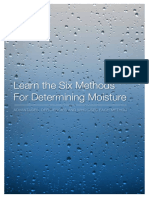 Six Different Moisture Methods eBook