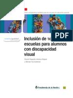 Inclusión de TICS en escuelas para alumnos con discapacidad visual
