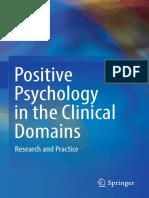 Psicologia Positiva en Los Dominios Clinicos