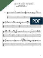 Concerto in D Minor by Antonio Vivaldi
