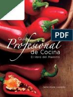Guia Profesional de Cocina JAIME ALZATE