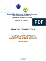Protocolo de Practica de Toxicologia