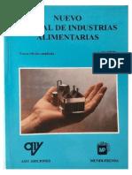 Nuevo Manual de Industrias Alimentarias-
