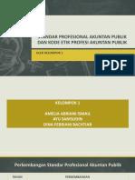 Bab 2; Standar Profesional Akuntan Publik Dan Kode Etik Profesi Akuntan Publik