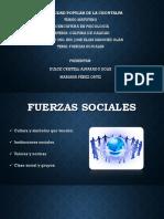 3. 4. Fuerzas Sociales