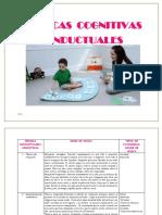 Tecnicas Cognitivas Conductuales Para Niños (Recuperado)