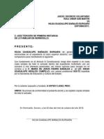 Escrito Solicitando Copia Expediente Hilda Guadalupe Lopez Burgara