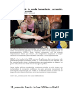 La industria de la ayuda humanitaria