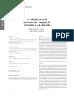 Relacion Entre Pedag Complejidad