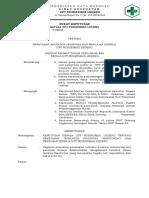1.1.5.2.a Sk Ka Puskesmas Tentang Penetapan Indikator Prioritas Untuk Monitoring Dan Menilai Kerja