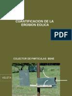 Cunatificacion Erosion Eolica