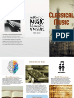 classical music brochure