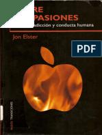 Jon Elster-Sobre Las Pasiones